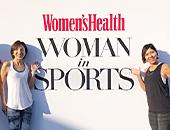 「Woman in Sports」グループ部門 受賞(Women's Health)